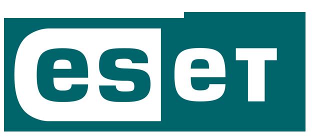 Das Logo von ESET.
