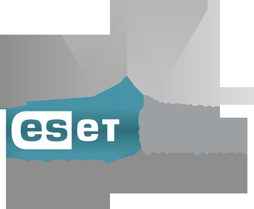 Das Partner-Logo von ESET.